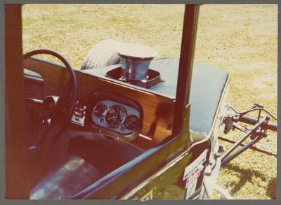 [Heron Sprint MK2 steering wheel and dashboard]