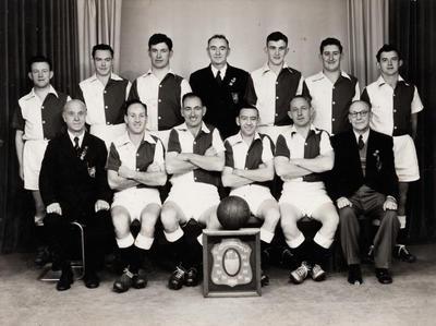 Auckland Transport Club Association Football Team 1955 : Winners of Roberston Memorial Shield