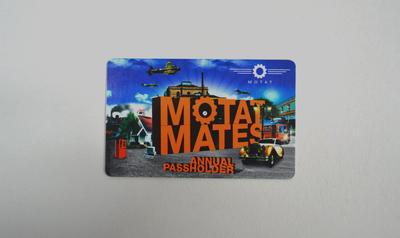 MOTAT Mates Annual Pass
