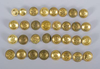 Uniform Buttons [Navy]