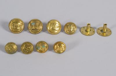 Uniform Buttons [Union Steam Ship Company]