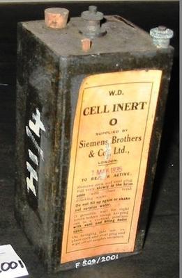Battery - Inert Cell