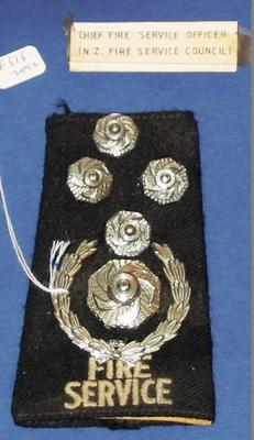 Epaulette [Chief Fire Service Officer]
