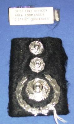 Epaulette [Chief Fire Officer Area Commander District Commander epaulette]