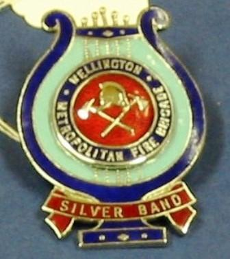 Badge [Wellington Metropolitan Fire Brigade]