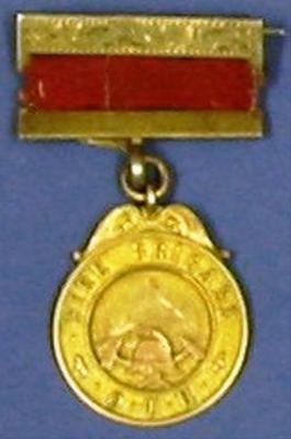 Medal [Service medal One Tree Hill Fire Brigade]