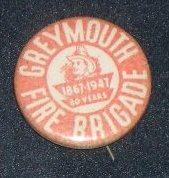 Badge [Greymouth Fire Brigade]