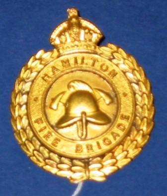 Badge [Hamilton Fire Brigade]