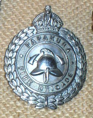 Badge [Papakura Fire Brigade]