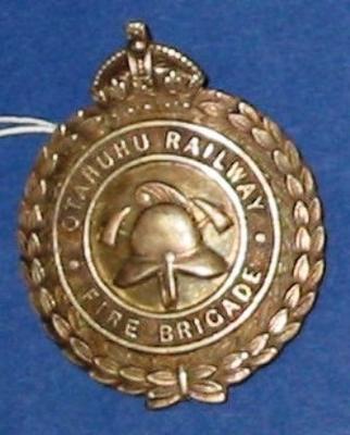 Badge [Otahuhu Railway Fire Brigade]