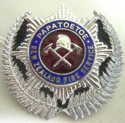 Badge [Papatoetoe NZ Fire Service]