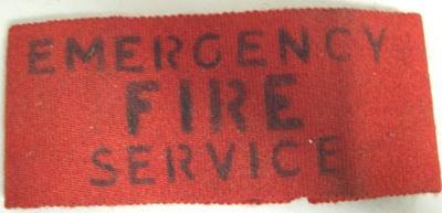 Armband [Emergency Fire Service]