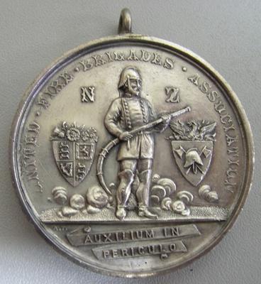 Medal [United Fire Brigades Association Long Service Medal]