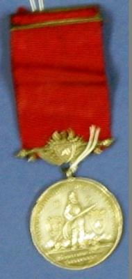 Medal [United Fire Brigades Association New Zealand 5 Year Medal]