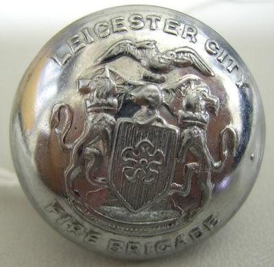 Uniform Button [Leicester City Fire Brigade]