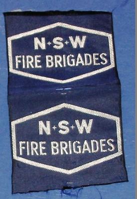 Shoulder patch [NSW Fire Brigades]