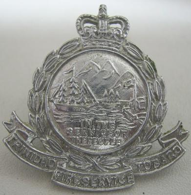 Hat Badge [Trinidad Tobago Fire Service]