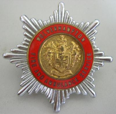 Hat Badge [Wolverhampton Fire and Ambulance Service]