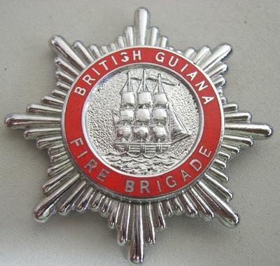 Hat Badge [British Guiana Fire Brigade]