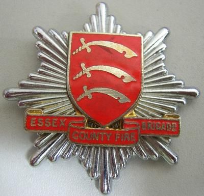 Hat Badge [Essex County Fire Brigade]