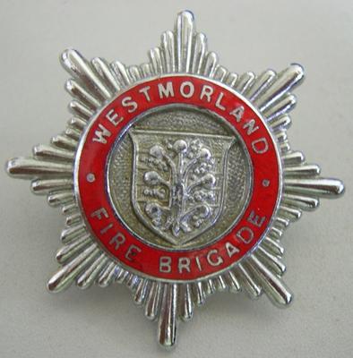 Hat Badge [Westmorland Fire Brigade]