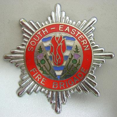 Hat Badge [South-Eastern Fire Brigade]
