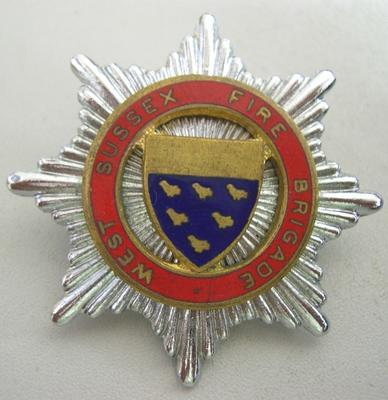 Hat Badge [West Sussex Fire Brigade]