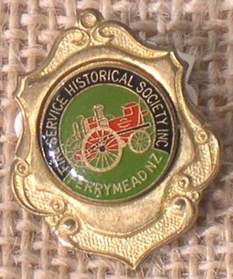Badge [Ferrymeade Fire Service Historical Society]