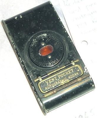 Camera [Vest Pocket Autographic Kodak (Model B)]