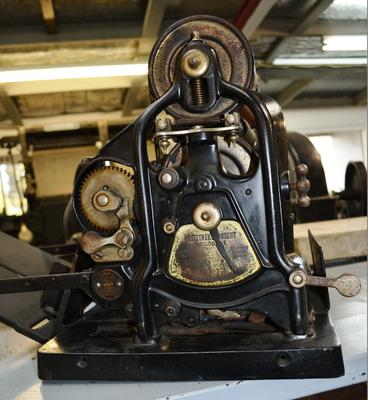 Cyclostyling Machine [Gestetner Rotary]