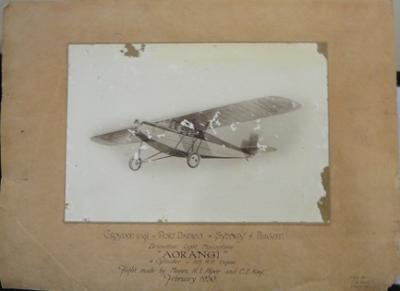 """""""Aorangi"""" Dessouter Light Monoplane"""