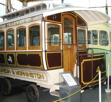 Cable car [Mornington - Bobtail Trailer No.4]; Jones Car Company; 1883
