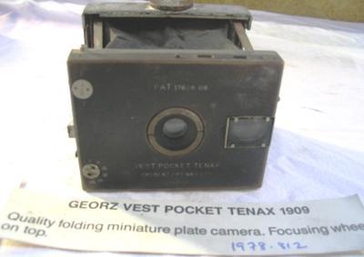 Camera [Goerz Vest Pocket Tenax]