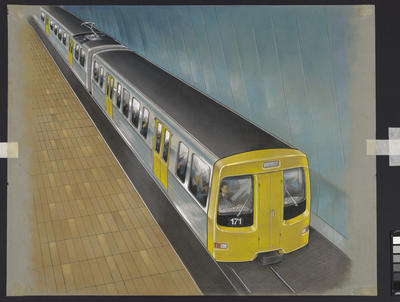 [Auckland Rapid Transit: Concept for control car of train 171]
