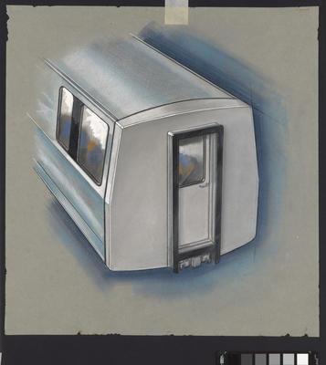 [Auckland Rapid Transit: Concept for control car 127]