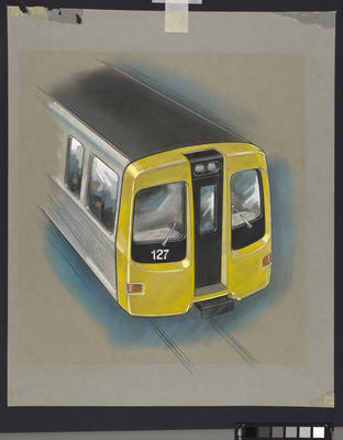 [Auckland Rapid Transit: Concept for exterior end of passenger carriage 127]