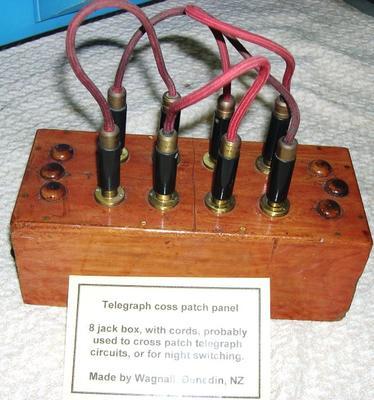 Panel - Telegraph Cross Patch