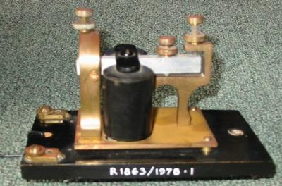 Sounder Telegraph Morse and Resonator Box