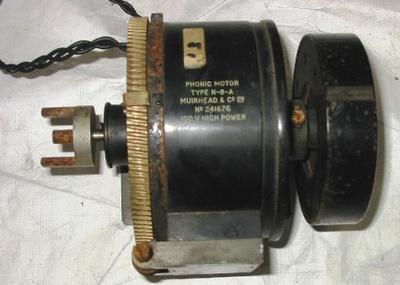 Electric Motor for Telegraph Multiplexing
