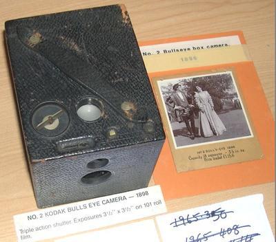 Camera [No.2 Bulls-Eye Kodak Model D]