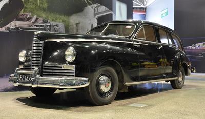 Automobile [Packard Clipper Hearse]