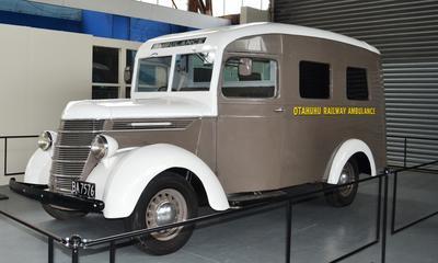 Ambulance [Otahuhu Railway Ambulance]