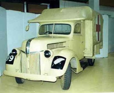 Vehicle [Ford V8 Army Ambulance]
