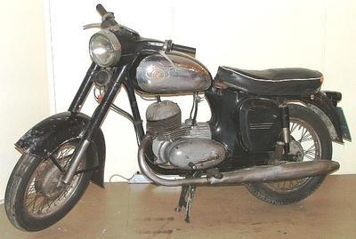 Motorcycle [Jawa CZ 175 cc]