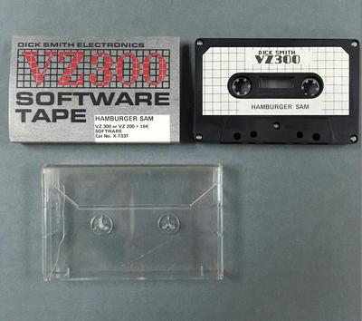 Data Cassette Tape [HAMBURGER SAM]