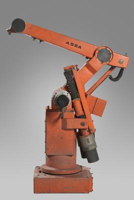 Industrial Robot [IRB6, Allmänna Svenska Elektriska Aktiebolaget (ASEA)]; ASEA; ABB; CEM