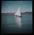 [Hand coloured sail boat]